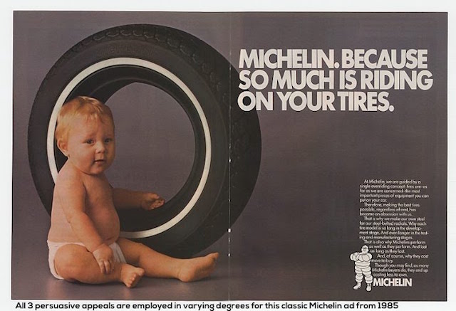 Michelin Advert 1985